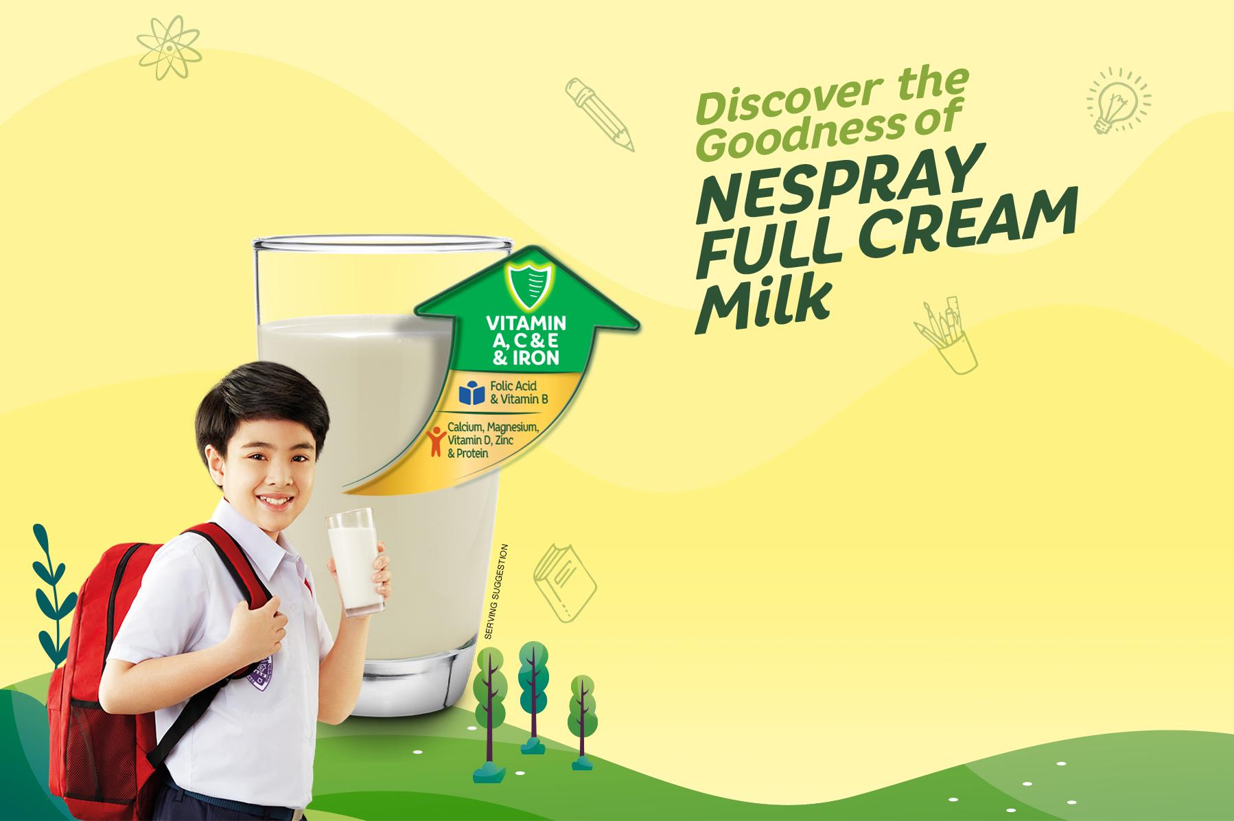 Discover the Goodness of Nespray