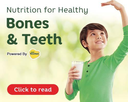 Nutrition for Healthy Bones and Teeth